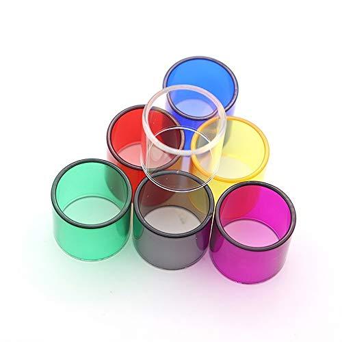 7 teile / paket ersatzglasröhre für goblin mini v1 v2 v3 / micro tfv4 2.5 ml / petri tank 22 / reuleaux rx75 / melo 3 ,Frei von Tabak und Nikotin ( Bundle : For Goblin Mini v1 v2 v3 , Color : Multi )