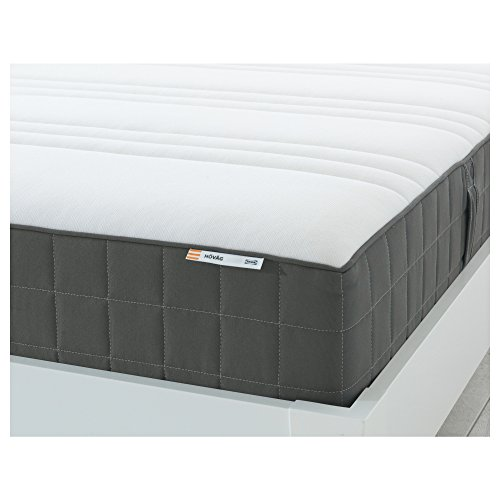 IKEA HÖVåG Taschenfederkernmatratze 80x200 cm fest/dunkelgrau