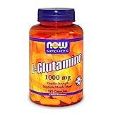 L-グルタミン、ダブルストレングス、1000mg、120粒 Now foods ナウフーズ [並行輸入品]