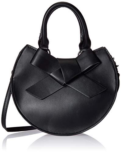 Betsey Johnson Crossbody-Tasche mit Schleife, rund, Schwarz (schwarz), Einheitsgröße