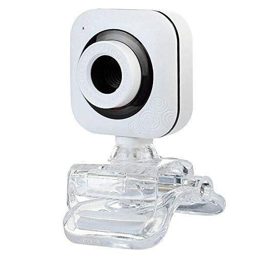 JIAA Webcam with Microphone, Plug and Play, Auto Focus, for Youtube,Skype Video Calling, Studying, Gaming