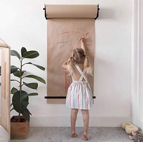 Grote bruine kraftpapierrol - 50meter - Gemaakt in China - Ideaal voor geschenkverpakking, verpakking, verplaatsen, posten, verzending, pakket, muurkunst, ambachten, bulletinborden, vloerbedekking, tafelloper
