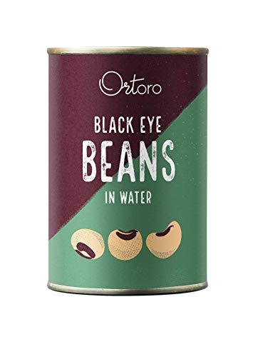 Ortoro - Fagioli dall'occhio, 400 g, confezione da 12