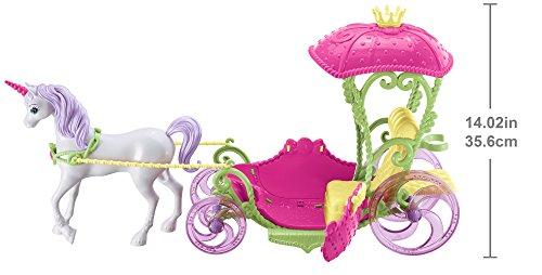 Princesse Barbie et sa Calèche Licorne Dreamtopia - 4