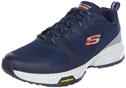 Skechers Street Flex Eliminator, Zapatillas para Caminar Hombre, Nvor, 44 EU