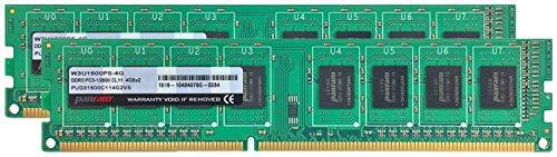 シーエフデー販売 エフ デー販売 CFD販売 デスクトップPC用メモリ PC-12800 DDR3-1600 8GB×2枚 240pin DIMM 無期限保証 Panramシリーズ W3U1600PS-8G