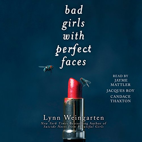 Bad Girls with Perfect Faces audiobook cover art