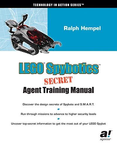 LEGO Spybotics Secret Agent Training Manual (Technology in Action Series)