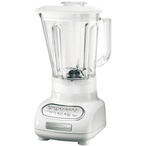 KitchenAid Artisan, Vidrio, Acero inoxidable, Blanco, 220 - Licuadora