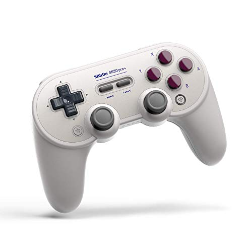 8Bitdo SN30 Pro Plus Controller Bluetooth Gamepad for Switch/PC/Android/Mac/Steam/Raspberry Pi - G Classic Edition