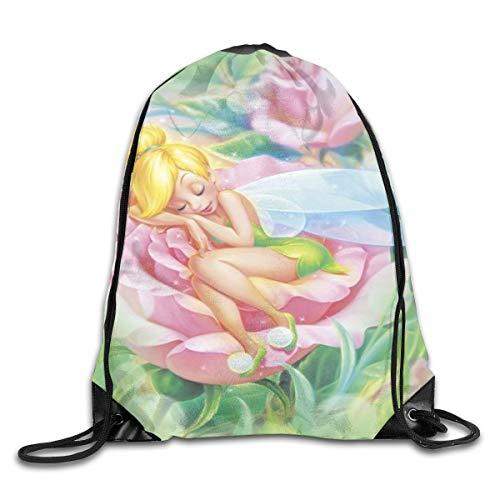 LREFON Tom&Jerry Drawstring Bag Gym Backpack Man Women Sport Storage Shoulder Bag