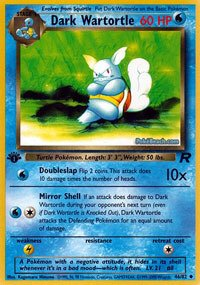 Pokemon - Dark Wartortle (46) - Team Rocket