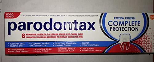 mächtig der welt 2x Palodon Tax Full Protection Zahnpasta mit Fluorid 8 Vorteile Neue Zahnpasta 75ml