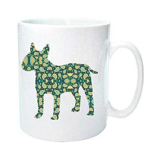 Taza de perro con diseño de Bull Terrier inglés