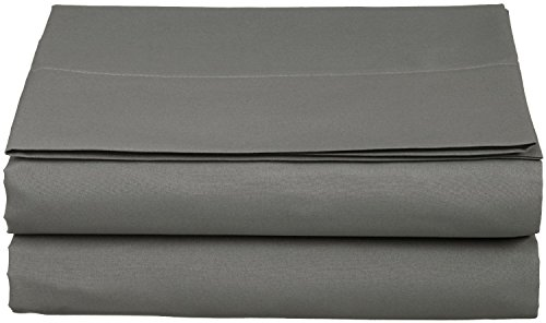 Luxury Fitted Sheet on Amazon Elegant Comfort Wrinkle-Free 1500 Thread Count Egyptian Quality 1-Piece Fitted Sheet, Queen Size, Grey