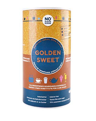 NO SUGAR SUGAR | Golden Sweet - Erythrit Gold (400g) Ersatz für Rohrzucker aus Erythrit
