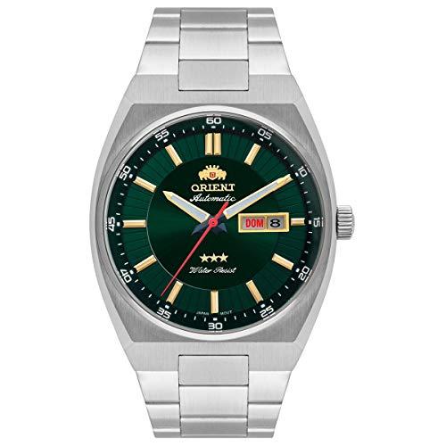 Relógio Orient Masculino automático Verde 469ss087 E1sx