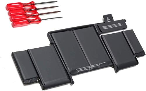 A1582 A1493 Laptop Battery Replacement for Mac Book Pro 13 inch Retina A1502 (Late 2013 Mid 2014 and Early 2015) A1493(Late 2013,Mid 2014 Version) A1582 ME864 ME865 Laptop Battery