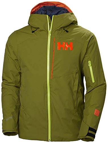 Helly Hansen Powjumper Jacket Chaqueta, Hombre, 407 Wood Green, S