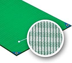 Vlinder 8110001-couvertures Olive (3 x 6 m veelzijdig inzetbaar)