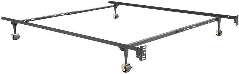 Classic Brands Hercules Standard Metal Bed Frame Adjustable Width Fits Twin Twin XL Full Queen