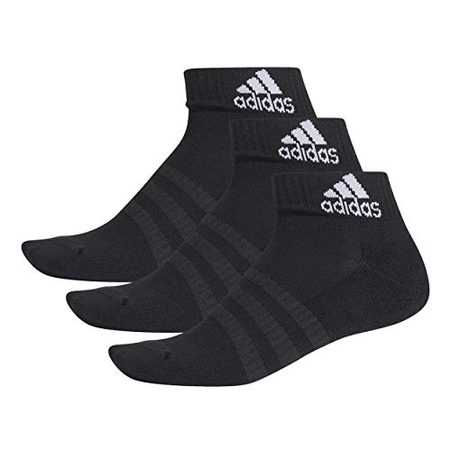 adidas Sportsocken Cushioned Ankle Socks Black/Black/Black 40-42