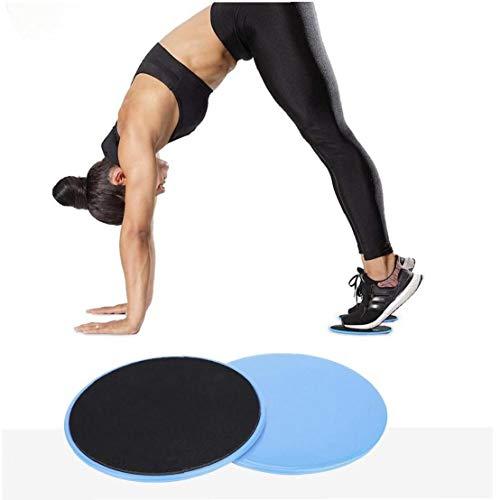 Case Cover 2ST Slide Slider Fitness Platte Sport Skateboard Yoga Slide Abdominal- Kern Muskeltraining Fitnessgeräte