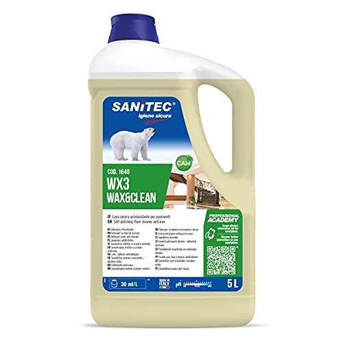 Lavaincera - Detergente Auto Lucidante con Cere Naturali, per Pavimenti Incerati e Non, anche in Legno - 5 kg