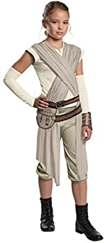 Star Wars  The Force Awakens Child s Deluxe Rey Costume Large
