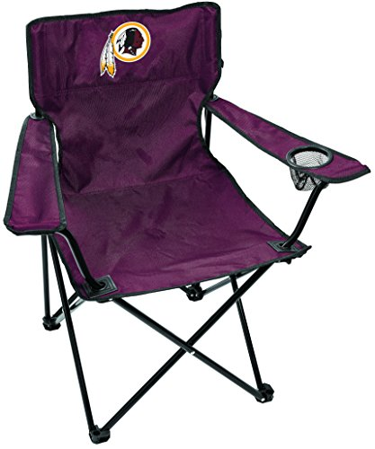 Rawlings NFL Gameday Elite Lightweight Folding Tailgating Chair, with Carrying Case, Washington Redskins