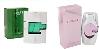 Set of 2 Pieces Guess Man by Guess for Men - EDT, 75ml With Guess Pink by Guess for Women - EDP, 75ml
