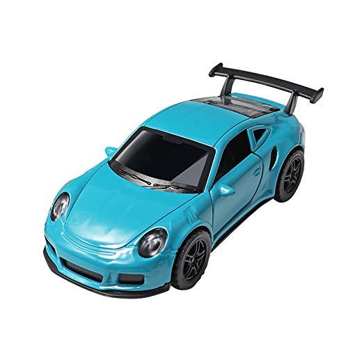 Spielzeug Kinderspielzeug ziehen Auto Legierung Jungen Simulation Rennmodell zurück Alloy Pull Back Cars Kinderspielzeugautos Modell Geschenke Reibungsgetriebene Autos Pull and Go