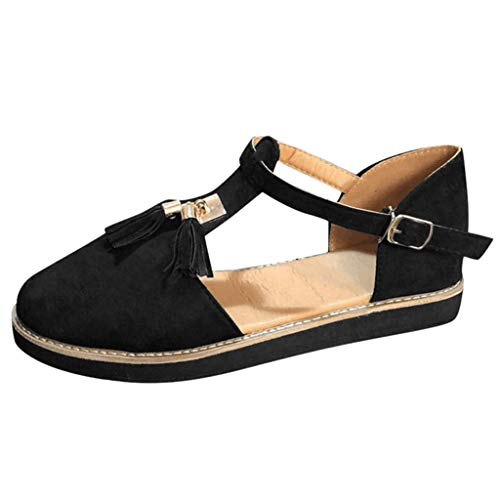LHWY Zapatillas de Deportivas Plataformas Antideslizantes Casual Zapatos de Planas para Mujer Verano