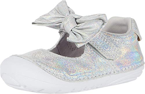 Stride Rite Girl's Soft Motion Esme Sneaker, Iridescent, 5 Toddler