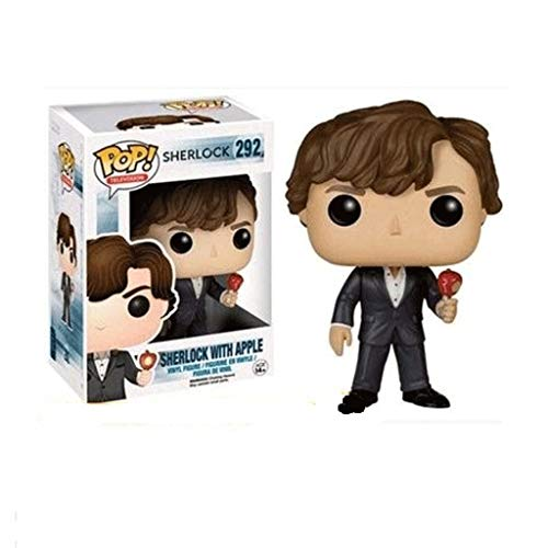 Funko Pop Television : Sherlock - Sherlock with Apple 3.75inch Vinyl Gift for TV Fans SuperCollection