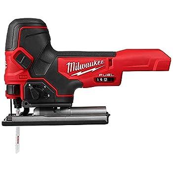 MILWAUKEE S Jig Saw,18VDC,Barrel Grip