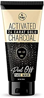 The Packtale Co. 24 Carat Gold Activated Charcoal Peel-Off Face Mask (100 ML) - For Men & Women