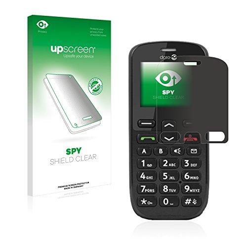 upscreen Anti-Spy Blickschutzfolie kompatibel mit Doro PhoneEasy 508 Privacy Screen Sichtschutz Bildschirmschutz-Folie