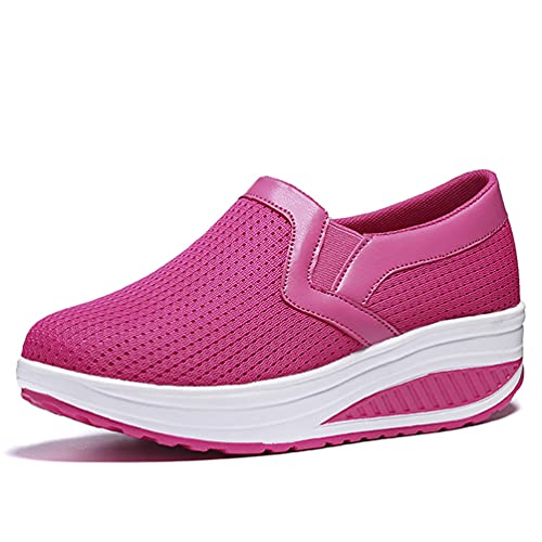 Casual Transpirable Slip-on Mujer Zapatillas de caña Baja L
