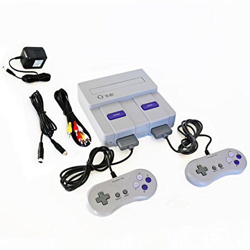 16-bit Entertainment System(NOT SNES MINI, NO GAMES INCLUDED) Compatible with Super Nintendo Games
