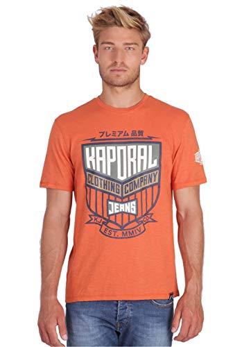 KAPORAL ORZO Camiseta, Rouge Burnt, S para Hombre