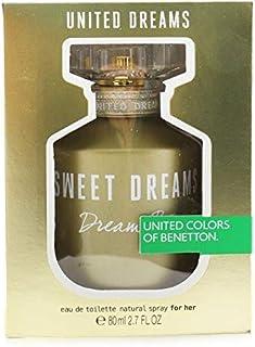 Benetton United Dreams Sweet Dreams Eau De Toilette Spray 80ml/2.7oz