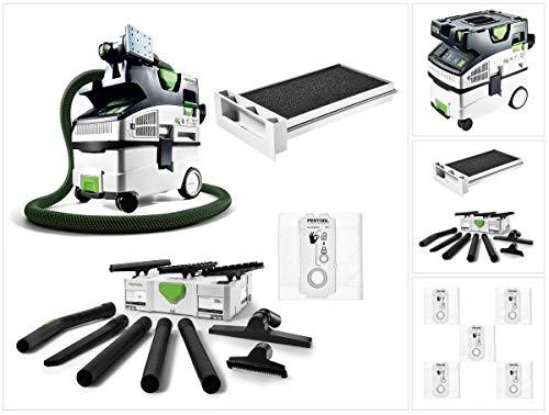 Festool CTL MIDI I Cleantec Absaugmobil 15l Staubkl. L (574832) + Nassfilter NF-CT + Filtersäcke SC-FIS-CT + Reinigungsset K-RS-Plus