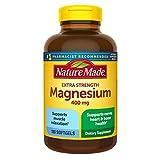 Nature Made Extra-Strength Magnesium 400 mg - 180 Softgels