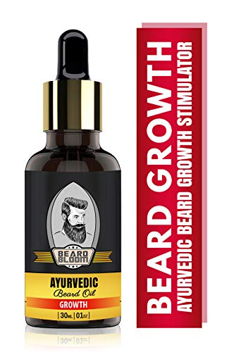 Beard Bloom Ayurvedic Beard Growth Oil for Men - For Growing Beard