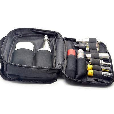 FidgetFidget New Carry Bag Case and Double-deck Pocket Kit Bag for RTA RBA RDA Mods