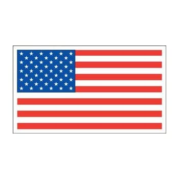 Veteran Flag Magnet For Car or Home 3-3//4 by 5-1//4 inches