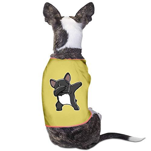 CMEY Dog Clothes Dabbing French Bulldog Dog Shirts Pet Vest