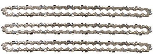 """Cadenas de sierra 3/8"""" 1,1 mm 44 eslabones 30 cm compatible con Stihl"""