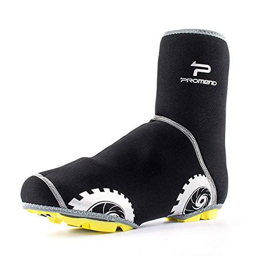 Ciclismo Overshoes Cubierta de calzado para ciclismo, equipo de conducción de carretera de montaña integrado, cubierta de calzado de bloqueo de bicicleta En Bicicletas de Montaña de Ciclocross